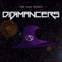 Opening screen of Digimancer